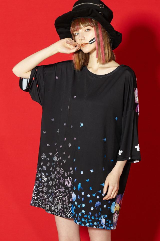 リィィィミックス!!!11号機Tシャツ -メガビッグ-