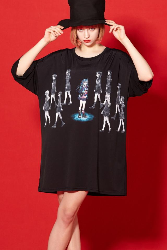 マイノリティガールTシャツ -メガビッグ-